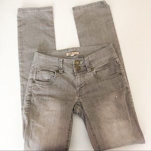 CaBi jeans gray straight leg
